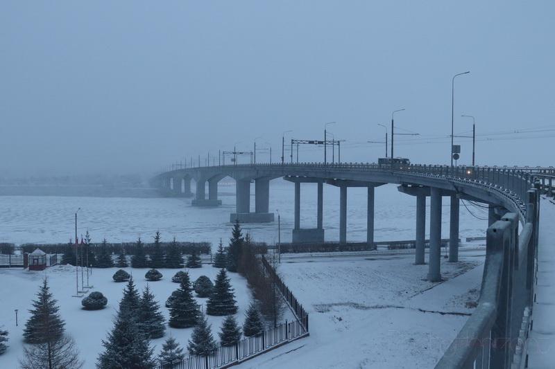 Мост через Волгу в Костроме