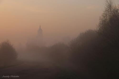 В-тумане